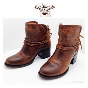 {Freebird by Steven} Casey Rugged Ankle Booties